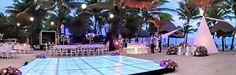 Montaje terminado Boda en la Playa de Hotel Gran Paladium @Riviera maya