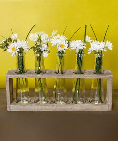 Take a look at this Glass Bottle & Rack Set by Designs Combined Inc. on #zulily today!