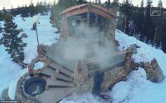 Former pro-snowboarder Mike Basich has built a tiny, isolated cottage in the Sierra Nevada...