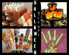 halloween treats & fun food crafts