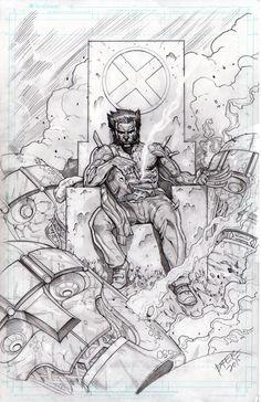 Wolverine by BienFlores on DeviantArt Wolverine Cosplay, Wolverine Art, Logan Wolverine, X Men, Hulk, Comic Books Art, Comic Art, Thor, Panther