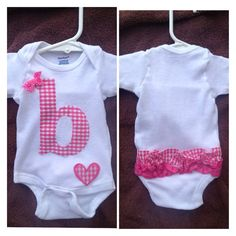 Personalized Ruffle Bum Onsies by FishGirlFashions on Etsy, $22.00
