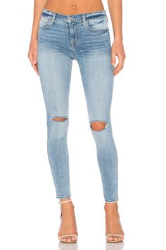 7 For All Mankind Ankle Skinny in Crescent Valley 2 | REVOLVE