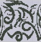 Dragons Cross Stitch Pattern - via @Craftsy
