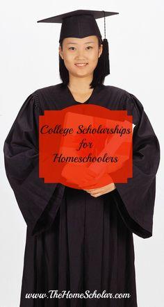 College Scholarships for Homeschoolers