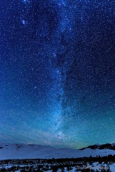 ˚Milky Way over the Great Sand Dunes - Colorado