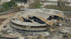 RIP The Los Angeles Memorial Sports Arena: Aerial Shots Capture Demolished Once-iconic Former Home of Lakers, Clippers