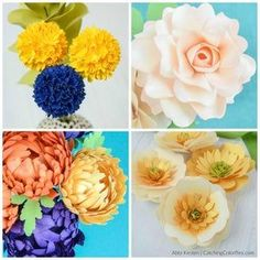 The Joy of Paper Flowers Ebook and Flower Template Bundle image 6