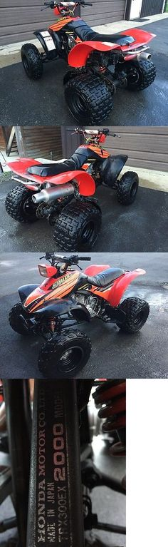 HONDA 300EX ATV 2000 Model (4-Wheeler) - Exclusively on #priceabate #priceabatePowerSportsATVsUTVs! BUY IT NOW ONLY $1100