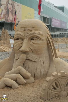 70 sculptures somptueuses qui élèvent les châteaux de sable au rang d'oeuvres d'art