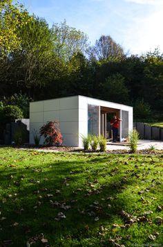 Modernes #Gartenhaus @gart_lounge   Modern Garden Shed   White House # Gartenhaus #HPL