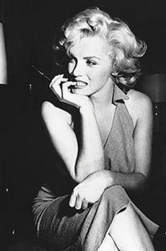Hollywood Starlet Marilyn Monroe