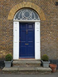 Oxford Blue Door