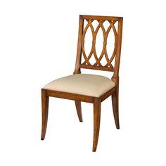 Mahogany Lattice Dining Chairs