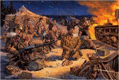 Guerra de Invierno. 1939-1940. Johnny Shumate  Última posición en el camino a Raate, 5 de enero de 1940.