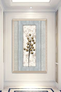New Chinese three-dimensional metal entrance decorative painting New Chinese, Chinese Style, Break Wall, Wedding Stage Design, Lotus Pond, Jewelry Wall, Diamond Flower, Painted Floors, Sign Design