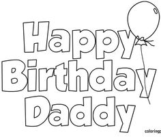 58 Best Happy Birthday coloring Pages images | Happy ...