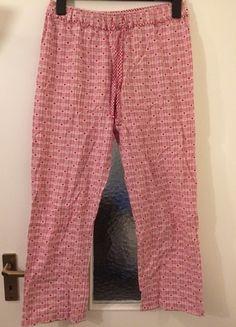 Kaufe meinen Artikel bei #Kleiderkreisel http://www.kleiderkreisel.de/damenmode/schlafanzuge/116141484-schlafanzughose-chillhose-pyjama-herzen-herzchen-herz-rot-weiss-kariert-karo-muster-baumwolle