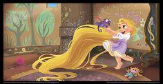David Gilson - Rapunzel (Tangled), Toddler Book