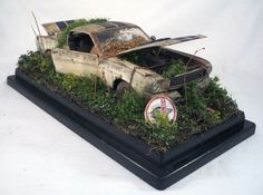 1965 Shelby Mustang GT 350 M2 Machines Barn Find Weathered 1 24 Custom Diorama Expensive CarsMost