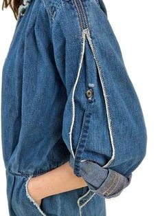 denim jump suits
