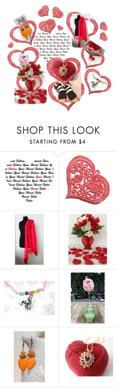 Follow Your Heart by owlartshop on Polyvore featuring romantic, valentines, integrityTT and EtsySpecialT