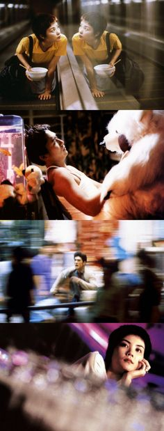 Chungking Express -1994 Hong Kong drama written & directed by Wong Kar-Wai. Cinematography Christopher Doyle