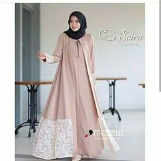 Modern Fashion Lace Open Abaya with Hijab Fashion for Muslim Ladies – Girls Hijab Style & Hijab Fashion Ideas Muslim Women Fashion, Islamic Fashion, Abaya Fashion, Fashion Outfits, Dress Fashion, Moslem Fashion, Modele Hijab, Mode Abaya, Hijab Fashion Inspiration