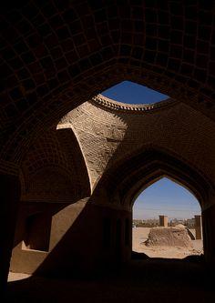 zoroastrian old building, Yazd Province, Yazd, Iran © Eric Lafforgue