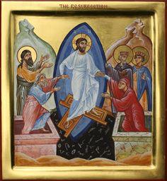 Descent into Hades - Aidan Hart Sacred Icons