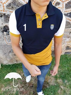 Inicio - TIENDAS PLATINO Polo Rugby Shirt, Mens Polo T Shirts, Polo Shirt Design, Mens Fashion Wear, Equestrian Outfits, Men Looks, Men Dress, Colorful Shirts, Shirt Designs