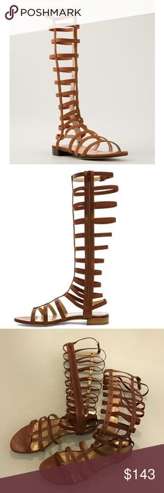 Stuart Weitzman Brown Gladiator Sandals size 7 Gorgeous and trendy Stuart Weitzman sandals in size 37 (size 7). Worn twice! Purchased for $445  The now-iconic silhouette is a year-round style essential and will single-handedly redefine your wardrobe. Embrace the exotic Bohemian trend and pair with a belted oversized white shirt for a St. Tropez-chic look, or slip on with your favorite shorts or minidress for instant WOW. No box but will ship safely in a dust bag! Stuart Weitzman Shoes…
