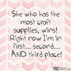 I win!  #craftquotes #factorydirectcraft