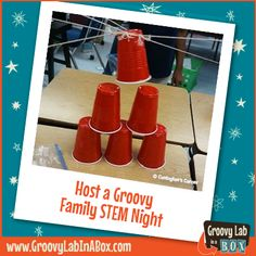 Family game nights are popular. But, have you ever thought about changing your family game night to a Family STEM Night? There are plenty of activities that require participants to think l...