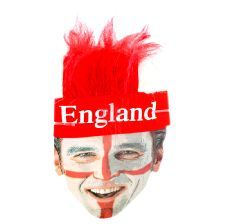 England St George Headband with Hair. Make an impact at this years Euro 2016 Tournament with this England headband with hair. http://www.novelties-direct.co.uk/England-St-George-Headband-with-Attached-Hair.html
