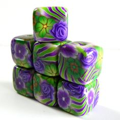 square beads, cool!