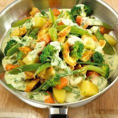 Chicken Pan with Vegetables Recipes Weight watchers rezepte calorie dinner calorie food calorie recipes Vegetable Recipes, Vegetarian Recipes, Chicken Recipes, Healthy Recipes, Vegetable Dishes, Weight Watchers Chicken, Weight Watchers Meals, Law Carb, Clean Eating