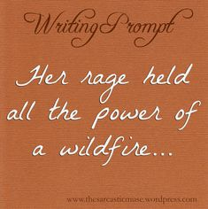 The Sarcastic Muse Writing Prompts: Photo