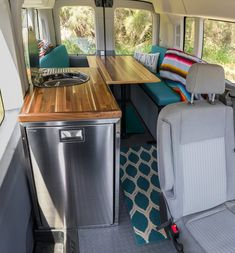 The Taylor family checking out their new bunk bed setup along with the other custom built modifications made to their Transit Camper Conversion, Van Conversion Build, Suv Camper, Camper Life, Kitchen Units, Kitchen Drawers, Camper Van Kitchen, Overland Truck, Campervan Interior