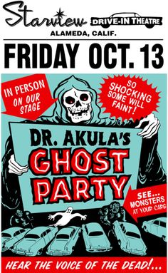 Dr. Akula's Ghost Party★this sounds like the most awesome event in the history of mankind!!!★ツ
