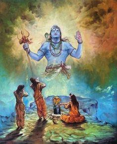 No photo description available. Arte Shiva, Mahakal Shiva, Shiva Statue, Shiva Art, Krishna Art, Hindu Art, Shree Krishna, Radhe Krishna, Hanuman