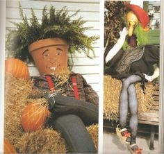 Scarecrow Craft Ideas | Scarecrows From The Book