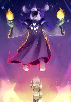 Definitely some of the best art I've seen of Asriel