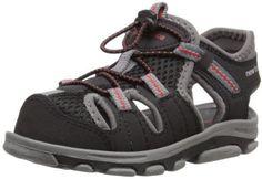 New Balance K2029BGR-W : Adirondack Closed Toe Sandal Wide Width Toddler/Kid (6 W US Toddler)