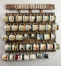 Coffee cup holder coffee cup rack 40 to 48 Hook coffee mug