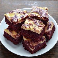 Red Velvet Cheesecake Brownies by oldcook