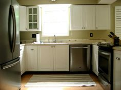 kitchen cabinets with countertops river white granite shaker style cabinets white subway 6466