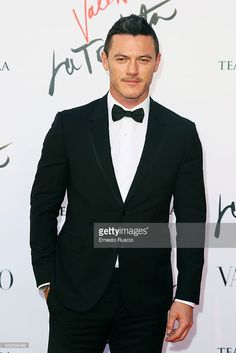 Luke Evans attends the 'La Traviata' Premiere at Teatro Dell'Opera on May 22, 2016 in Rome, Italy.
