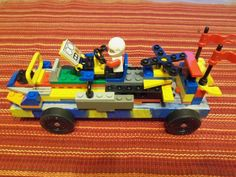 Pinewood Derby car ~ lego creation