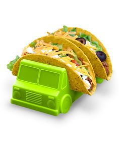 Taco Truck. Make mealtime fun with this truck-shaped taco holder!
